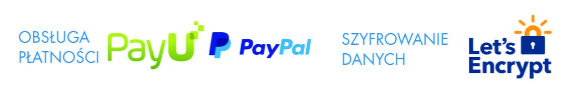 logo płatności i ssl